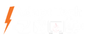 Adapt Technology's Electrical Contracting Services Logo. Business located 2848 Arden Way Suite 120, Sacramento, CA 95825.