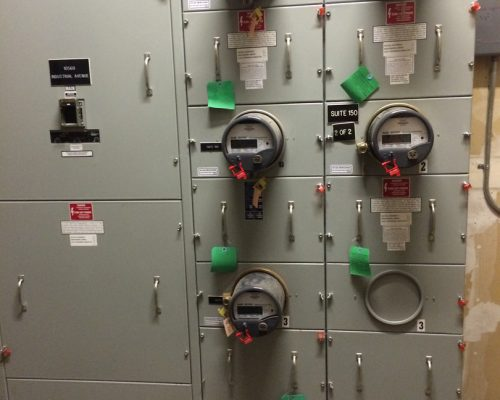 A Photo of Meter Equipment Serviced by Adapt Technology in Sacramento, CA. 95825.