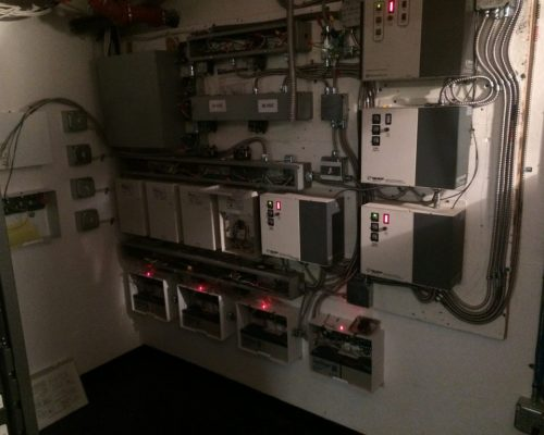 Cinelux Theatres' Dimmer System in Capitola CA Serviced by Adapt Technology, Sacramento, CA 95825.